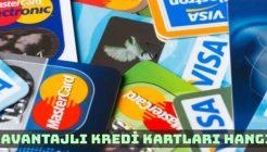 En Avantajlı Kredi Kartları Hangileridir?