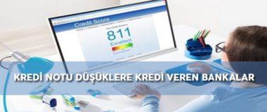 Kredi Puanı Düşük Olanlara 3 Bankadan Yeni Kredi