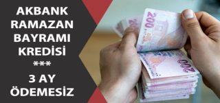Akbank'tan Ramazan Bayramı'na Özel Kredi Kampanyası