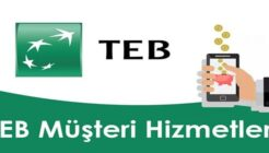 TEB Müşteri Hizmetlerine Direk Bağlanma