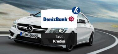 Denizbank 3 Ay Geri Ödemesiz 60 Bin TL Otomobil Kredisi!