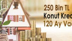 250 Bin TL Konut Kredisi Bankalara Göre Aylık Ödeme Tablosu