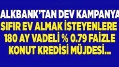 Sıfır Ev Almak İsteyenlere Halkbank'tan 180 Ay Vadeli 0.79 Konut Kredisi!