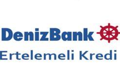 Denizbank 92 Gün Ödeme Ertelemeli 40 Bin TL İhtiyaç Kredisi!