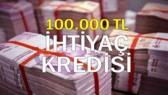 Garanti BBVA 100 Bin TL'ye Kadar İhtiyaç Kredisi Faiz Oranları!
