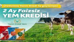 Tarım Kredi'den Çiftçilere Faizsiz Yem Kredi Kampanyası!