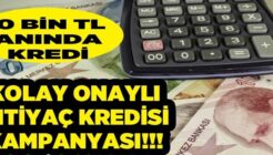 Burgan Bank Hemen Onaylı 10,000 TL İhtiyaç Kredisi Kampanyası!