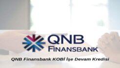 QNB Finansbank Kobi İşe Devam Kredi Kampanyası
