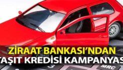 Ziraat Bankası'ndan Ayakları Yerden Kesecek Taşıt Kredisi Kampanyası!