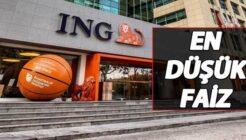 ING Bank Düşük Faizli Avantajlı İhtiyaç Kredisi Kampanyasını Duyurdu